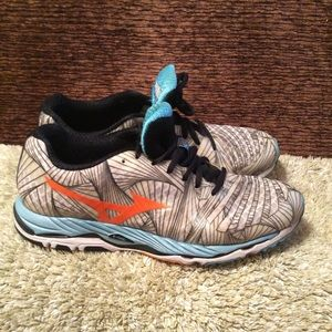 Mizuno Wave Paradox Running Shoes Sz 11W